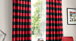 Red Blackout Blind Curtains Red And Black Curtains Awesome Red Black And Silver
