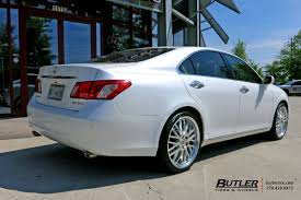 lexus wheels size lexus es with 20in lumarai kya wheels exclusively from butler