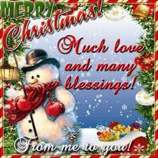 merry much and many blessings from me to you
