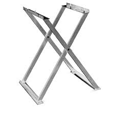 Folding Table Saw Stand Shop Mk Diamond Products Steel Table Saw Stand At Lowes Com