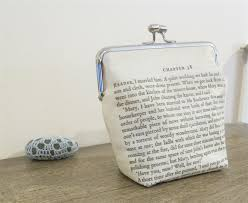 wedding quotes eyre eyre purse clutch bag quote reader i married him bronte