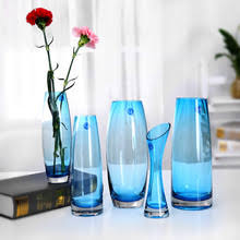 Blue Vases For Wedding Popular Green Glass Vase Buy Cheap Green Glass Vase Lots From
