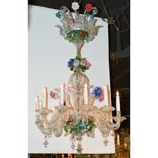 Antique Glass Chandelier Fabulous Antique Venetian Glass Chandelier Legacy Antiques