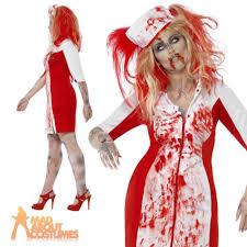 Nurse Costume Halloween Curves Zombie Nurse Costume Ladies Halloween Fancy Dress