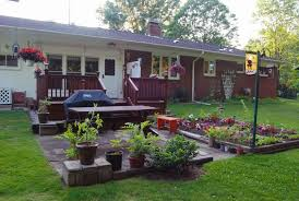 Exterior  Small Backyard Landscaping Ideas On A Budget Small - Small backyard designs on a budget