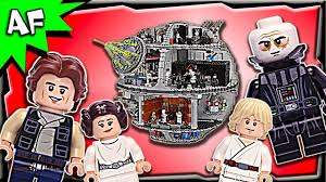lego star wars death star ucs 75159 stop motion build review youtube