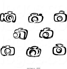vintage martini clipart free black and white camera clip art 40