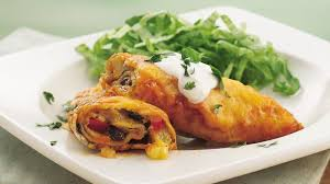 Pineapple Black Bean Enchiladas Recipe Pillsbury