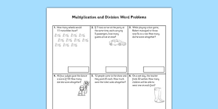 printable multiplication word problems year 2 multiplication and division word problems x2 x5 x10