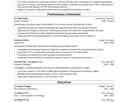 Architectural Resume Sample by Lead Architect Cover Letter