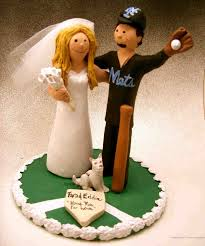 baseball wedding cake toppers wedding cake topper