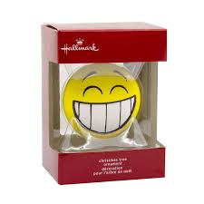 hallmark smile emoji christmas tree ornament walmart canada