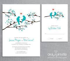 bird wedding invitations birds wedding invitations plumegiant