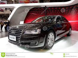 audi costly car black audi a8l editorial stock photo image 54034833