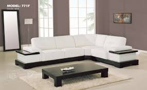 White Living Room by Living Room Furniture White Leather Sectional Sofa S3net