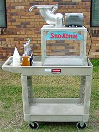 sno cone machine rental funtyme rentals snow cone machine rentals in houston