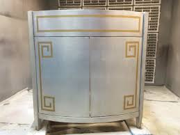 Bow Front Vanity Gilded Furniture U2013 Art Applications Inc