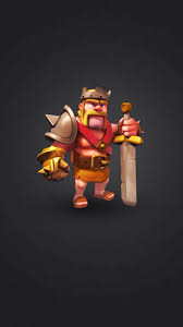 clash of clans wallpaper hd download clash of clan barbarian king 750 x 1334 wallpapers