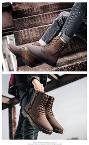 autumn and winter fashion high top men u0027s boots 43 40 17 online