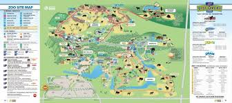 chicago zoo map real map collection mappery