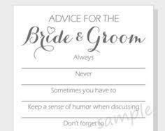 advice to the and groom cards printable prescription for a happy marriage advice cards for the
