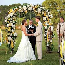 wedding arches images beautiful wedding arches southern living