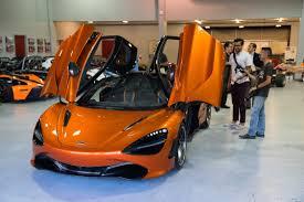orange mclaren 720s mclaren 720s exclusive preview of new part of mclaren driving