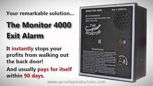 exit door alarm best restaurant exit alarm security products