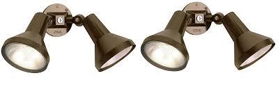 nuvo lighting sf77 495 two light outdoor heavy duty cast aluminum durable weatherproof
