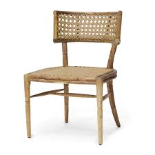 teak framed outdoor side chair mecox gardens