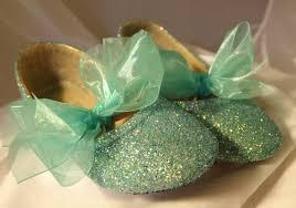 mint green ribbon flower girl shoes wedding shoes spa or mint green ribbon and bows