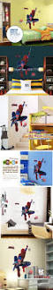 mas de 20 ideas increibles sobre spiderman childrens bedroom decor mj8001 free shipping new arrival cool spider man wall sticker for bedroom and living room