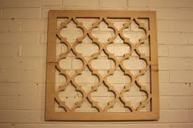 Moroccan Pattern Art Moroccan Wall by Moroccan Lattice Wall Hanging 24 X 24 X 75 Wood By Latticemaster