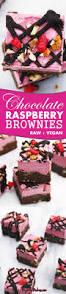 Dark Chocolate Raspberry Brownies by Best 25 Vegan Chocolate Brownies Ideas On Pinterest Vegan