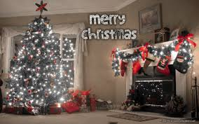 christmas tree love home and fireplace hd wallpaper u0026 background
