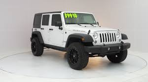 used jeep wrangler rubicon used 2015 jeep wrangler unlimited rubicon for sale in port richey