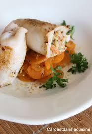 cuisiner les calamars calamars farcis aux encornets crevettes et jambon serrano caro