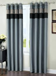 Outdoor Canvas Curtains Canvas Grommet Curtains Aqua Layered Solid Blackout And Sheer