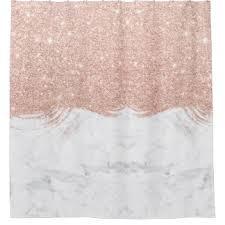 Glitter Shower Curtain Faux Gold Glitter Shower Curtains Zazzle