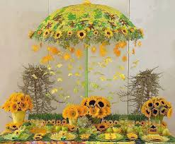 sunflower centerpieces centerpieces