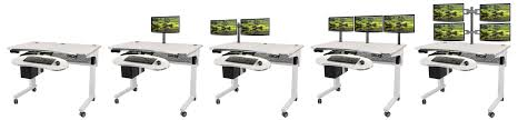 Electric Height Adjustable Desk by Deluxe Electric Lift Standing Table Daily Grind Health