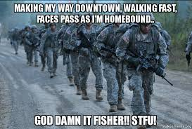 Making My Way Downtown Meme - making my way downtown walking fast faces pass as i m homebound