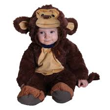 totally ghoul infant halloween costume monkey jumper size 6 12