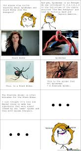 Black Widow Meme - black widow spiderman by shinigamipower meme center