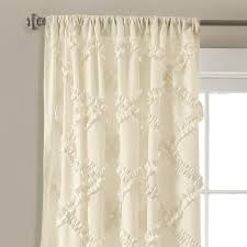 Curtains With Ruffles Ruffle Window Curtain Set Lush Decor Www Lushdecor