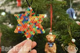 easy ornament hama bead ted s