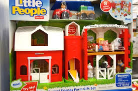Fisher Price Little People Barn Set Fisher Price Little People Animal Friends Farm With 8 Figures
