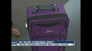 United Luggage by United Airlines To Charge Less For New Ticket Price If You Want To