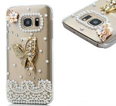 pearl lace galaxy s7 gorgeous golden owl or pearl lace butterfly