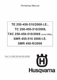 100 2009 husqvarna te 310 manual english popular te